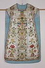 Edo Christianity Bishop ceremony clothes Silk Embroidery.