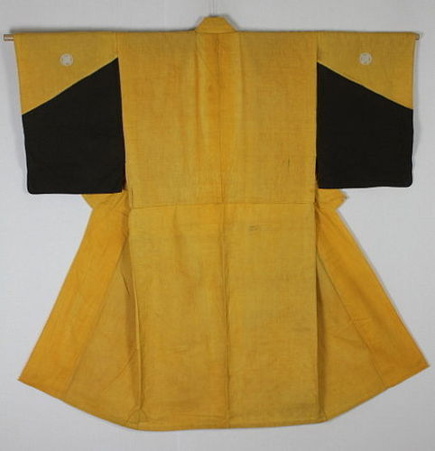 Edo Rikushaku-Kanban Cotton. Rare color-matching Thick Samurai