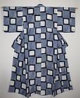 Japanese antique indigo dye cotton shibori (Tie-dye)kimono taisyo era