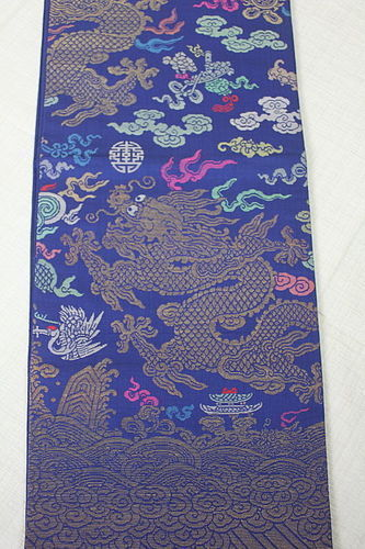 Dragon Silk Japanese style-Obi China Textile Dragon Silk Robe