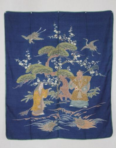 This is excellent Fukusa of (1800-1867) for Edo period used in Osaka.