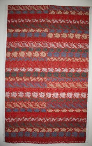 Japanese antique nishiki-Weaveing cotton uchishiki textile meiji  era