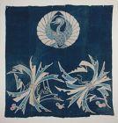 Japanese textile indigo dye Tsutsugaki cotton Edo