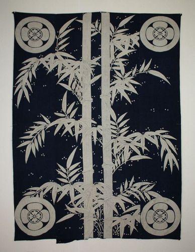 Japanese antique Items like Japanese paintings big Tsutsugaki of Snow