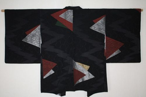 japanese Exotic, impressive and gorgeous  soft silk haor jacket