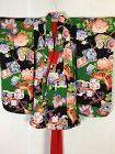 Japanese antique pattern of fairy dogs(otogiinu)child furisode kimono