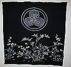 Japanese Antique  Tsutsugaki Textile futon cover