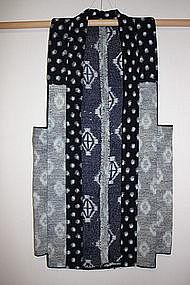 Japanese  Antique  Textile sashiko Farmer's Vest