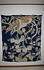 Edo yuzen silk yogi uchishiki Chinese phoenix paulownia