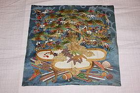 Edo Kake-fukusa excellent museum class textile