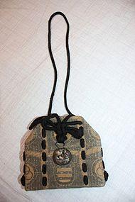 Edo Nishijin textile silk Small bag textile