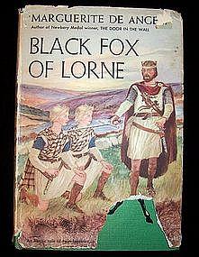 Black Fox of Lorne by Marguerite De Angeli, 1956