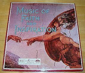 3 LP Record Set 'Music of Faith and Inspiration'