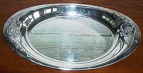 Oneida Community Silver Plate Gala Bread Tray