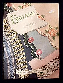 Crocheted & Tatted Edgings - Lily Design Book No. 58