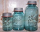 Ball Mason Canning Jar w/ Zinc Lid & Sealing Rubber