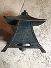 Japan a Beautiful Lantern Bell Chime for tea garden!