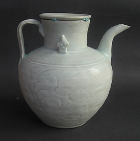 Song Dynasty Qingbai Ewer with Cover