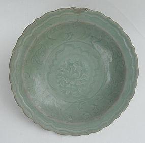 15th Century Celadon Dish