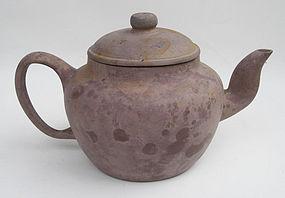 A Huge Tek Sing Purple Clay Yixing Tea Pot (2)