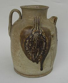 Tang Changsha Ewer with Leaf Motive