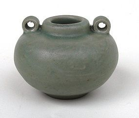 Yuan Dynasty Longquan Celadon Jar-let