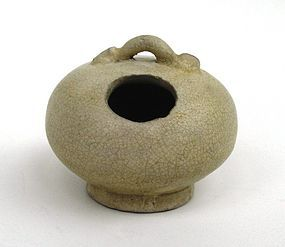 Southeast Asian White Glaze Lime Pot