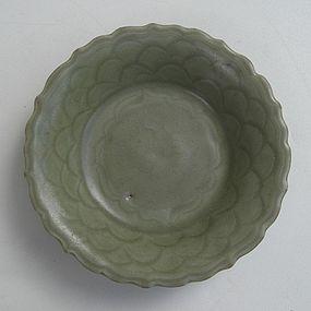 Nice Yuan Dynasty Longquan Celadon Small Dish