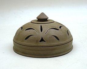 Tang/Five Dynasties Yue Yao Censer / Incense Burner Lid