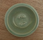 Song Lonquan Celadon Twin Fish Small Dish