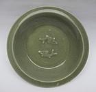Song / Yuan Lonquan Celadon Twin Fish Dish 22,5cm