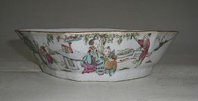 Qing 19th Century Soucer Bowl