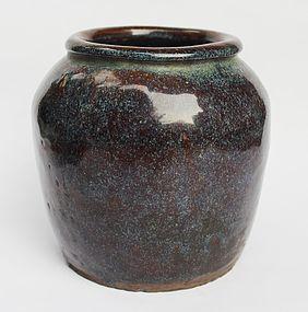 Jun Type Glazed Small Jar, Qing Dynasty