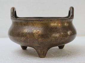 Chinese 18th Century Bronze Censer