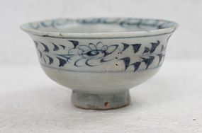 Yuan Blue and White Small Bowl / Cup