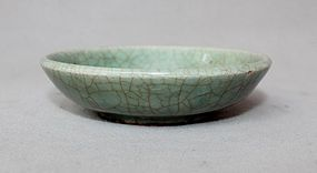 19th Century Crackled Celadon Glaze Small Bowl