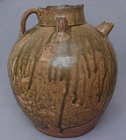 Chinese Tang Dynasty Large Yue Ewer