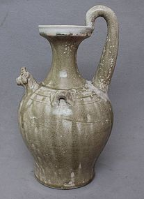 "Chinese Tang Dynasty ""Yue"" Chicken Head Ewer"