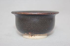 Chinese 12th-14th Century Brown Glazed Small Bowl