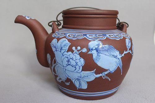 Chinese Yixing Zisha Large Teapot (148)