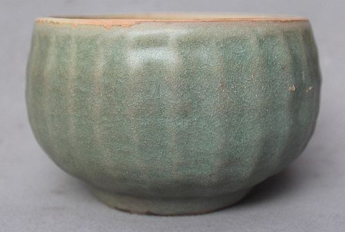 Chinese Song Dynasty Longquan Celadon Alms Bowl