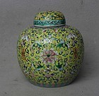 Chinese 19th-20th Century Ginger Jar