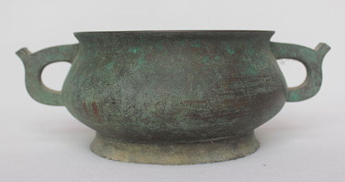 Chinese Incense Burner Bronze Censer, Qing Dynasty