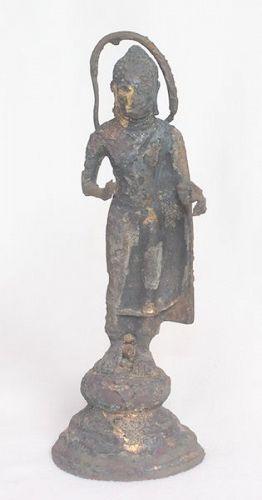 8Th - 10Th Century Gilt Bronze Buddha