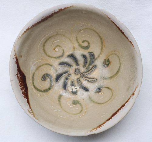 Chinese Tang dynasty Changsha ware bowl