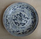 Vietnamese 15th Century Blue and White Dish