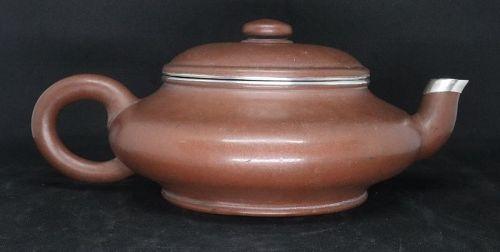 Chinese Large Yixing Zisha Teapot (188)