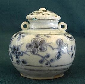 A Fine Blue and White Yuan Jar