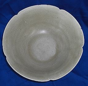 Five dynasty yue yao bowl