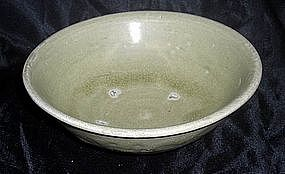 Green glaze bowl,song dynasty